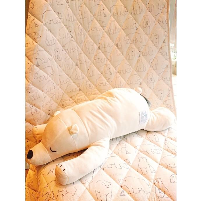 シロクマフェア ひんやり 抱き枕