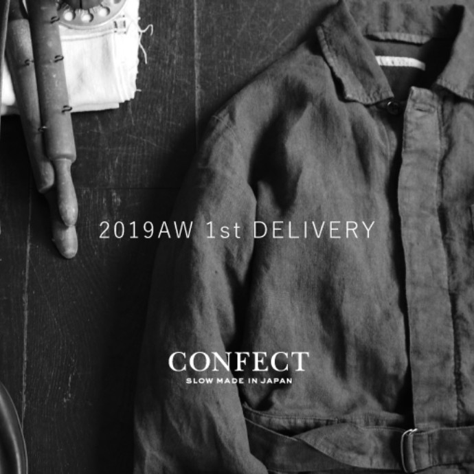 【2019AW 1st DELIVERY】のお知らせ