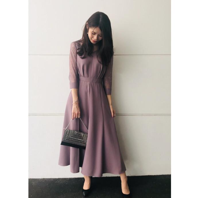 ロング丈ドレス