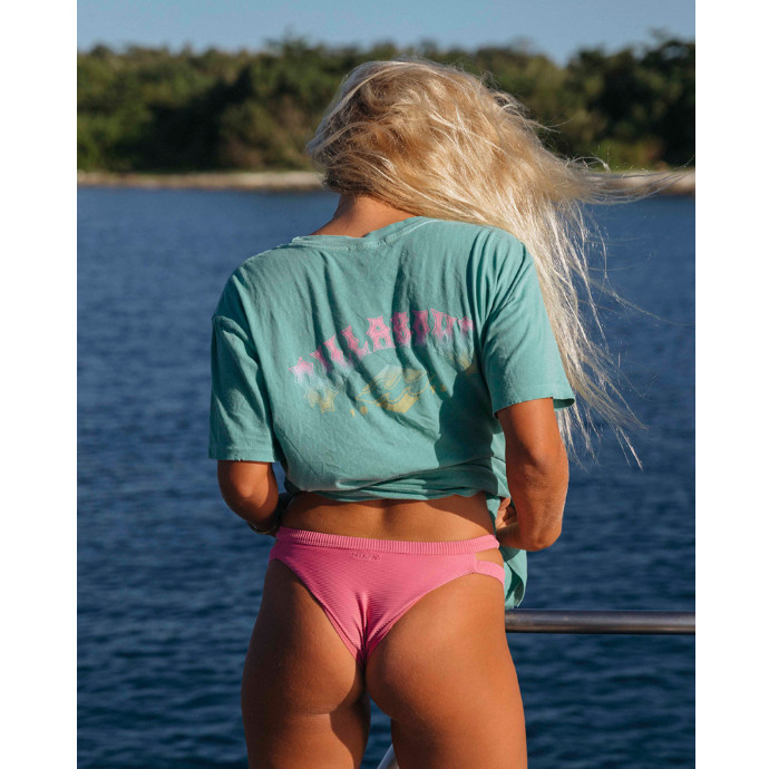 【SALE】BILLABONG レディース BEACH COMBER ポケットTシャツ