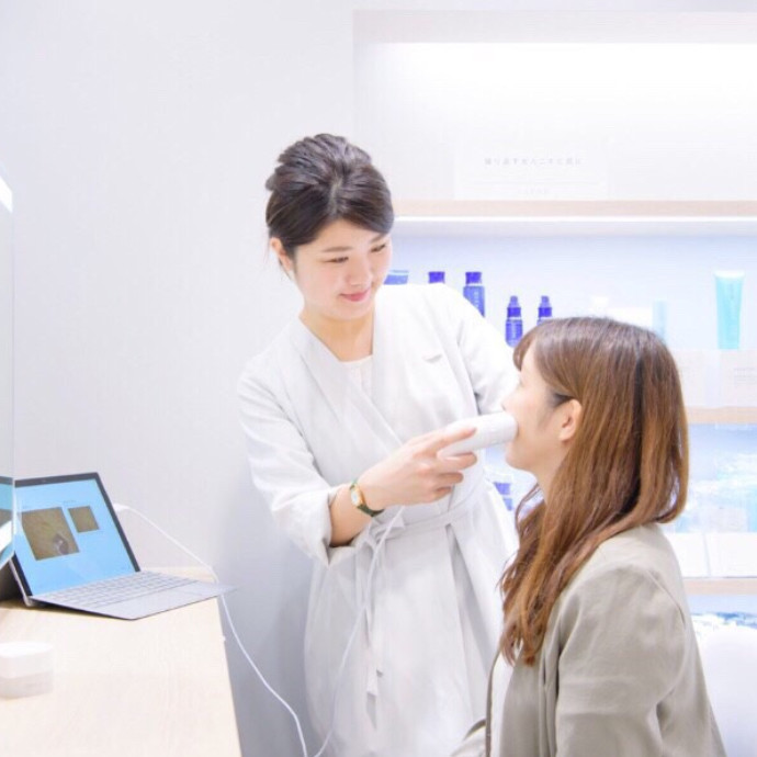 \ 肌診断機 体験イベント /