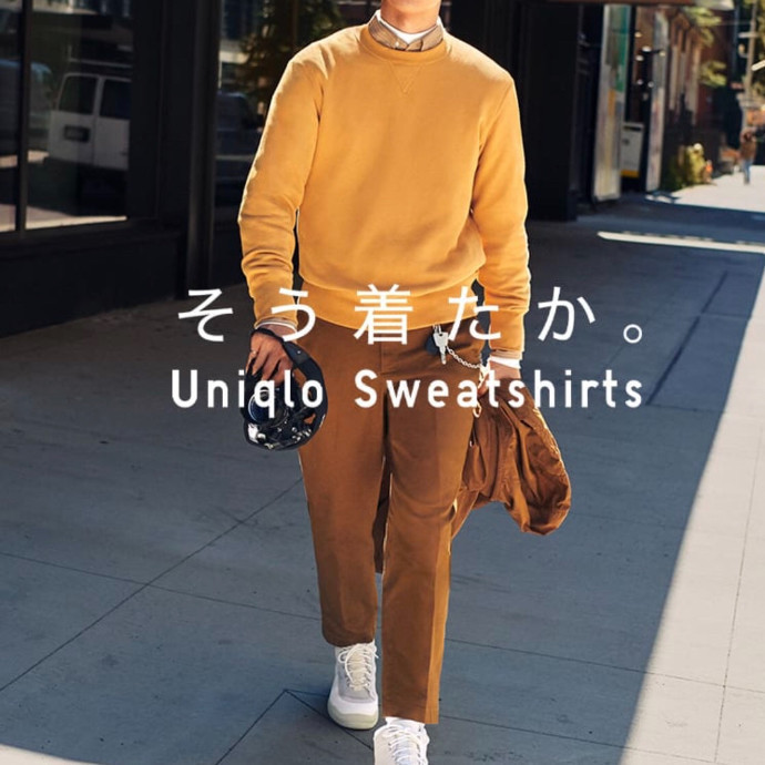 《《MEN★UNIQLO SWEAT COLLECTION》》