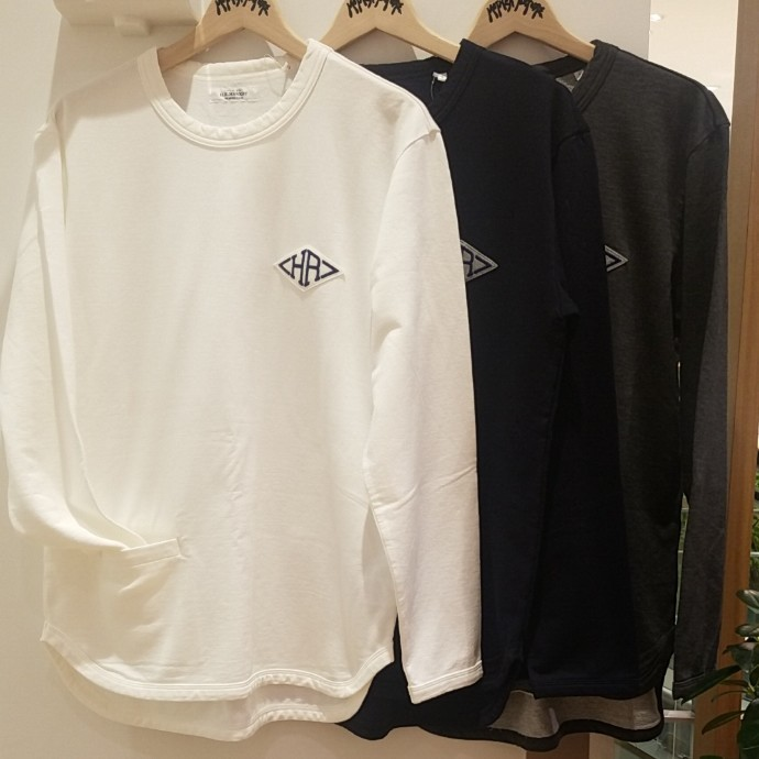 HRM☆HRワッペン フレンチテリーTシャツ