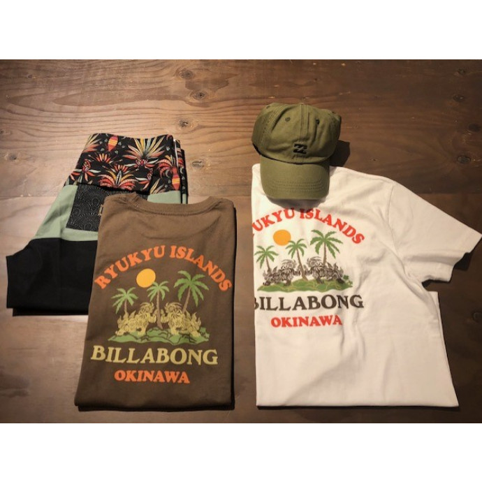 🌴 BILLA BONG 🌊 沖縄限定TEE 🌴