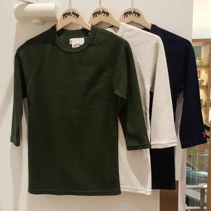 HRM☆ストレッチフライス ハーフスリーブTシャツ