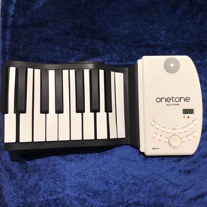 【onetone OTRシリーズ ロールアップピアノ】