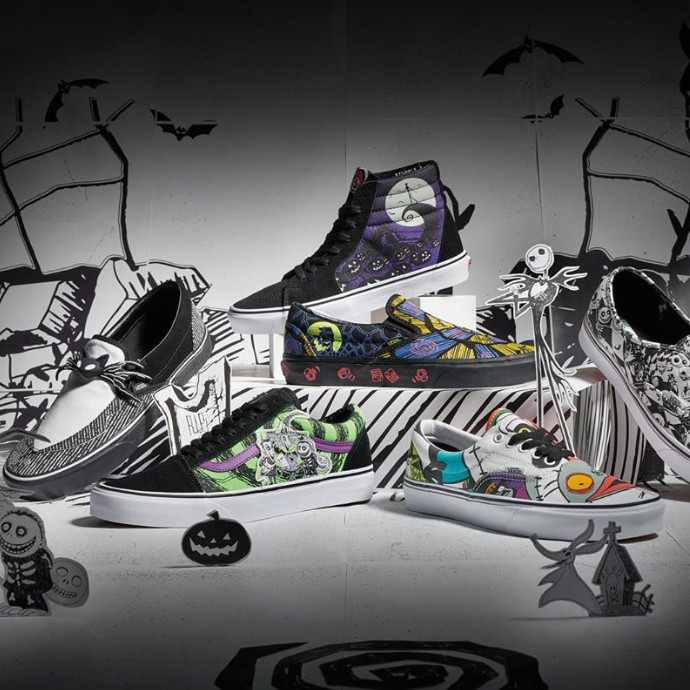【10/4Release★VANS×The Nightmare Before Chiristmas】