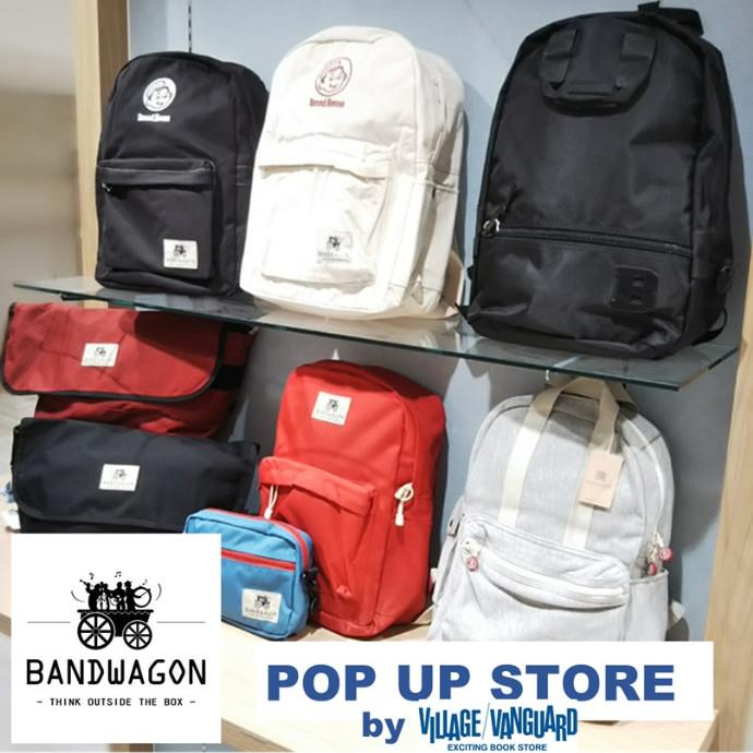 【週末限定!】BANDWAGON POP UP STORE by ヴィレッジヴァンガード