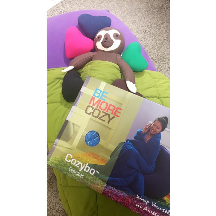 快適な睡眠をYogibo Blanketと共にどうですか?☺️