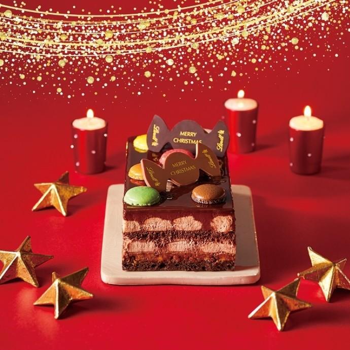 彩り楽しいクリスマスケーキご予約承り中