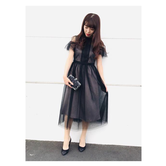 江野沢愛美さんコラボドレス