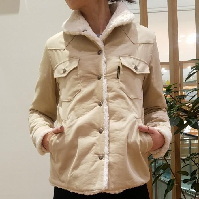 HRM☆コーデュロイボアライニングジャケット ウィメンズ