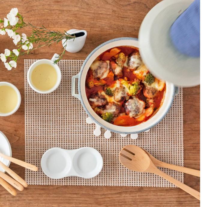 土鍋でごちそうを。