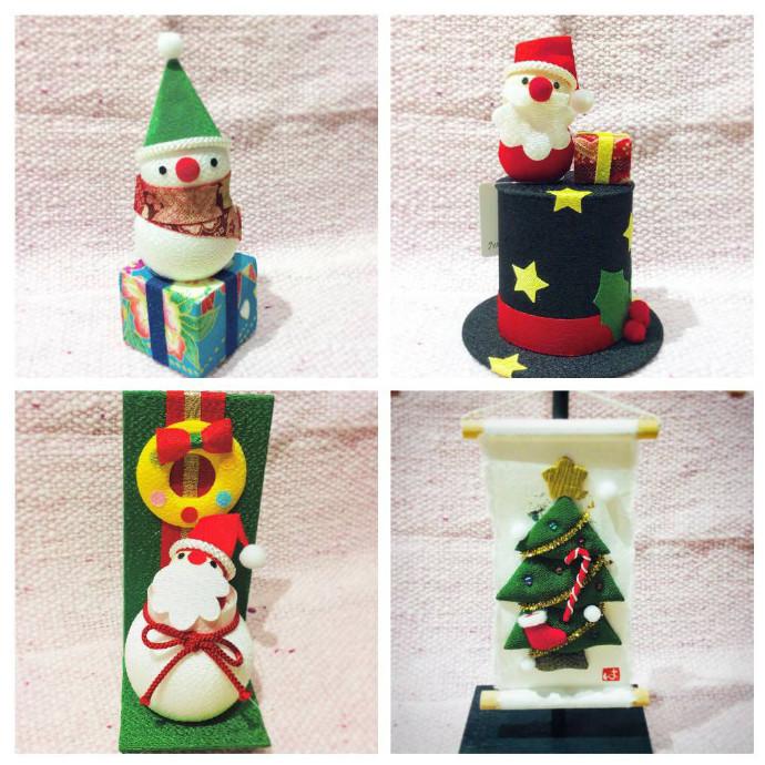 クリスマスアイテム【置物,お手玉】