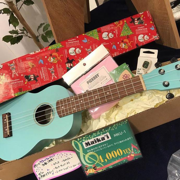 クリスマスプレゼントに楽器はいかがですか?