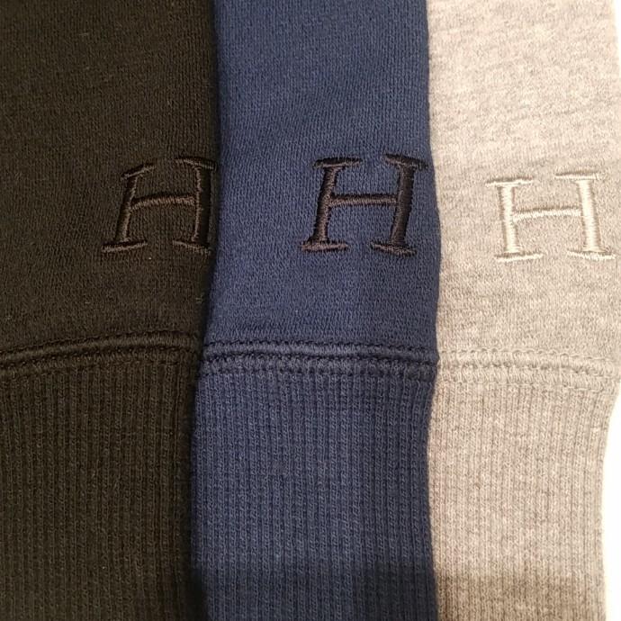HRM☆スーパーストレッチ クルーネックスウェット