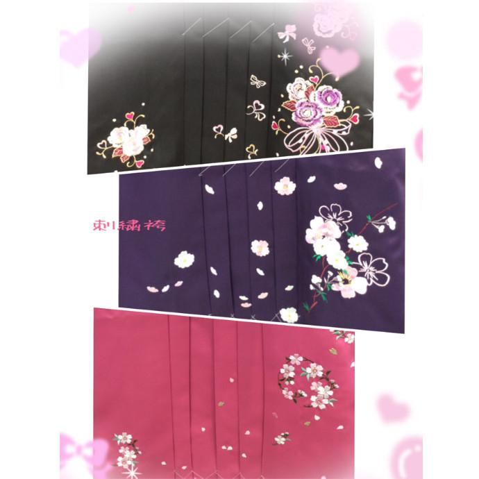 刺繍袴🌸&ぼかし刺繍袴✨🌸