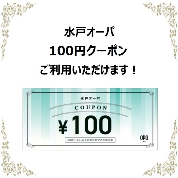 100円クーポン券