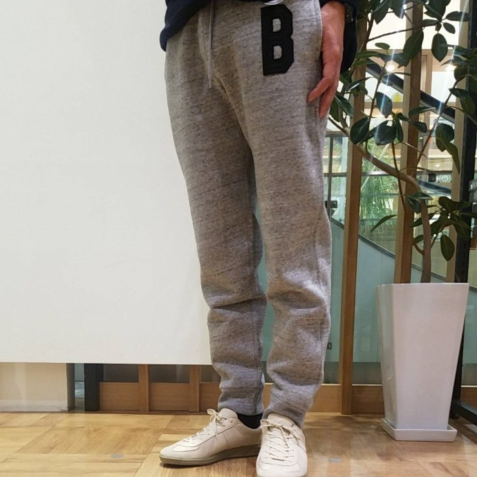RUSSELL・BLUE BLUE☆B PATCH SWEAT PANTS