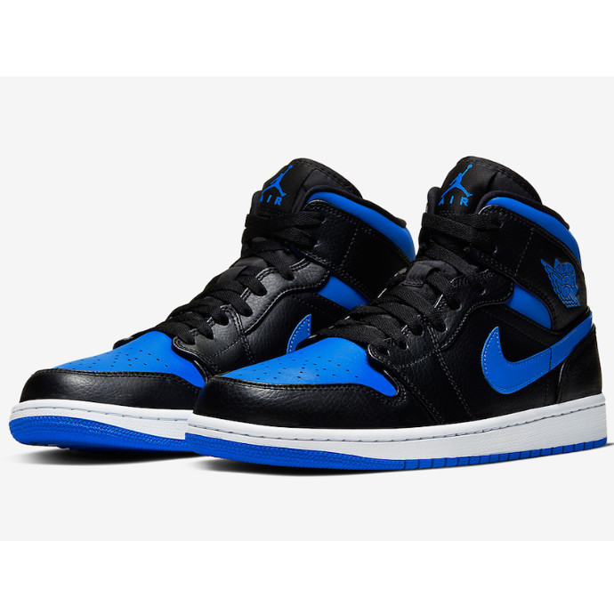 "【1月1日発売! AIR JORDAN 1 MID ""HYPER ROYAL"" 】"