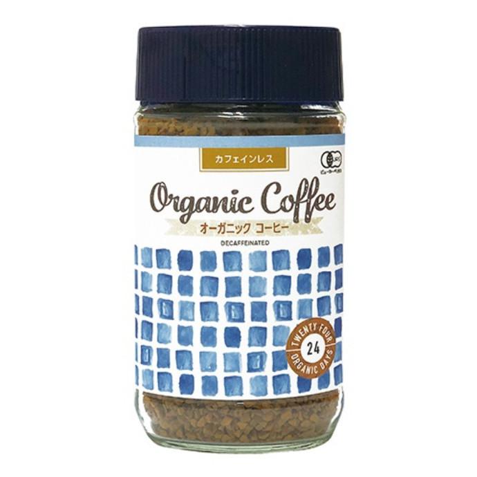 【24 ORGANIC DAYS】オーガニック インスタントコーヒー カフェインレス💓