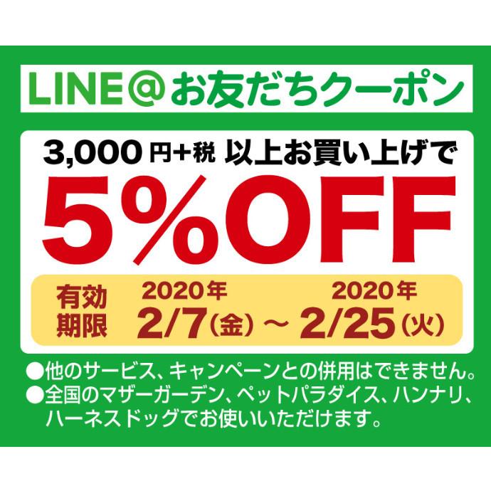 *LINE@お友達限定5%OFFクーポン配信中!*