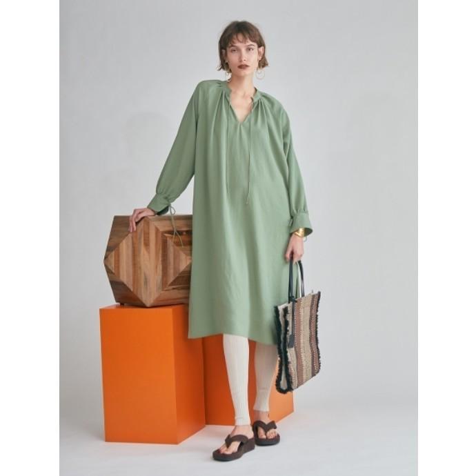 ドレスの様なカフタンチュニック