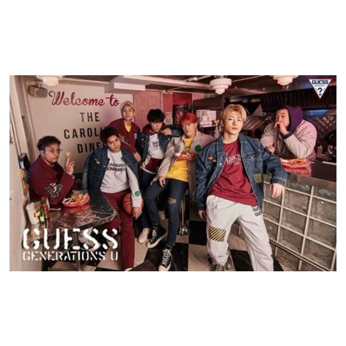 GUESS×GENERATIONS コラボ第2弾決定!