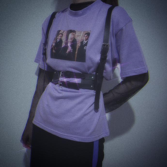 🖤黒✖紫コーデ💜