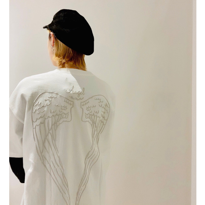 てんし : ホワイト:Tシャツ