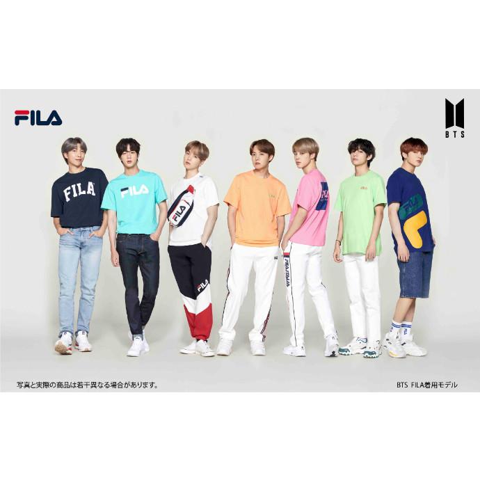 BTS × FILA コラボTシャツ 世界一斉発売!