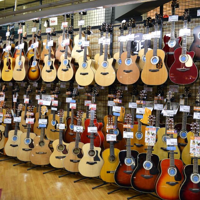 ご自宅で練習できる楽器も多数ご用意!
