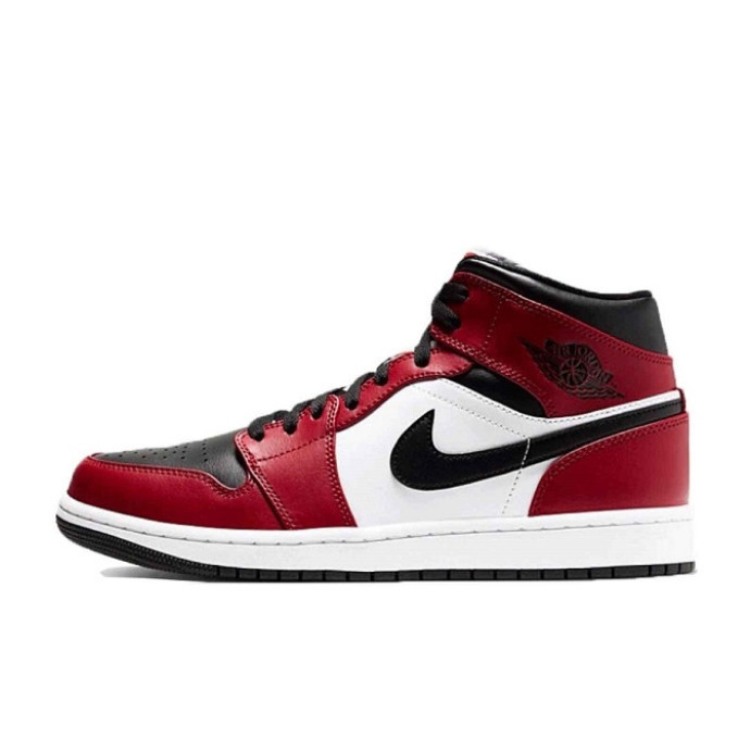 "【6/3発売】Air Jordan 1 Mid ""Chicago Black Toe"""