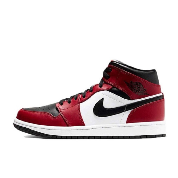 """【本日6/3発売】Air Jordan 1 Mid """"Chicago Black Toe"""""""