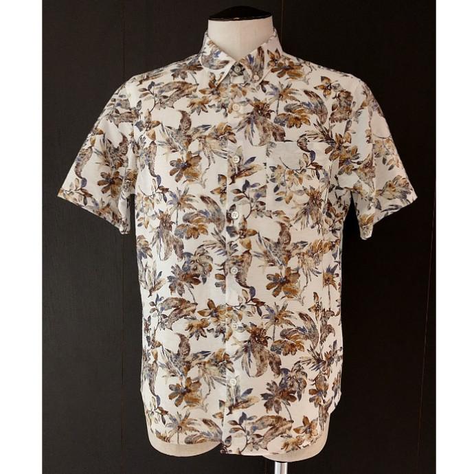 ボタニカルプリントシャツのご紹介