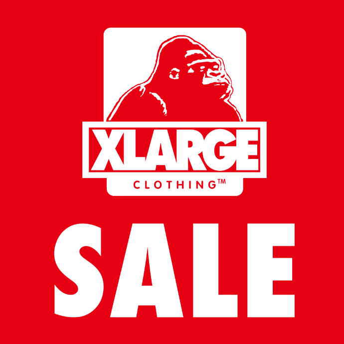 XLARGE SALE告知