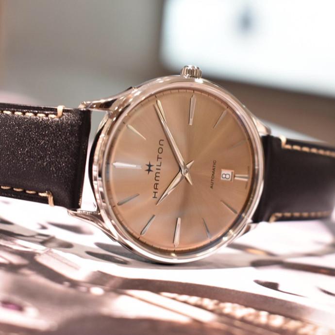 Hamilton 薄型の機械式時計