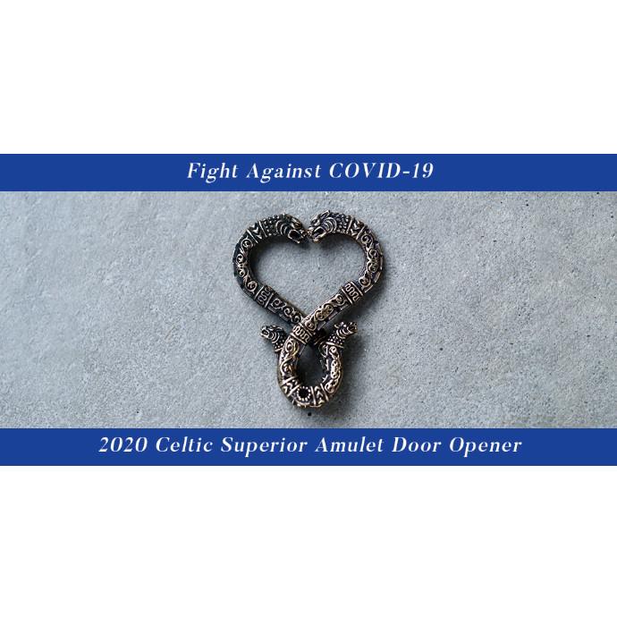 LEATHERS AND TREASURES ブランド初となる銅素材を用いた非接触型ドアオープナーを発売。