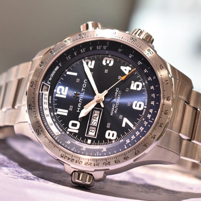 Hamilton 機械式時計