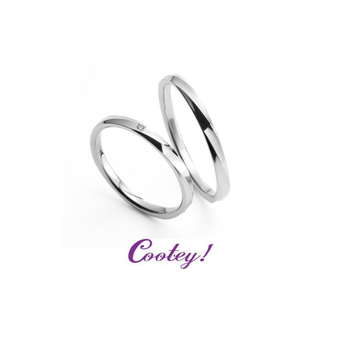 お洒落な結婚指輪♡『 Cootey!』