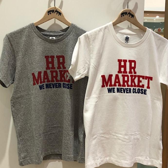 HRM☆HR MARKET カレッジTシャツ