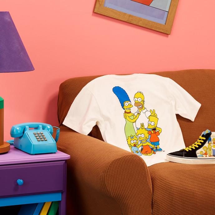 『予告』8/7(Fri)Vans x The Simpsons コレクションがリリース