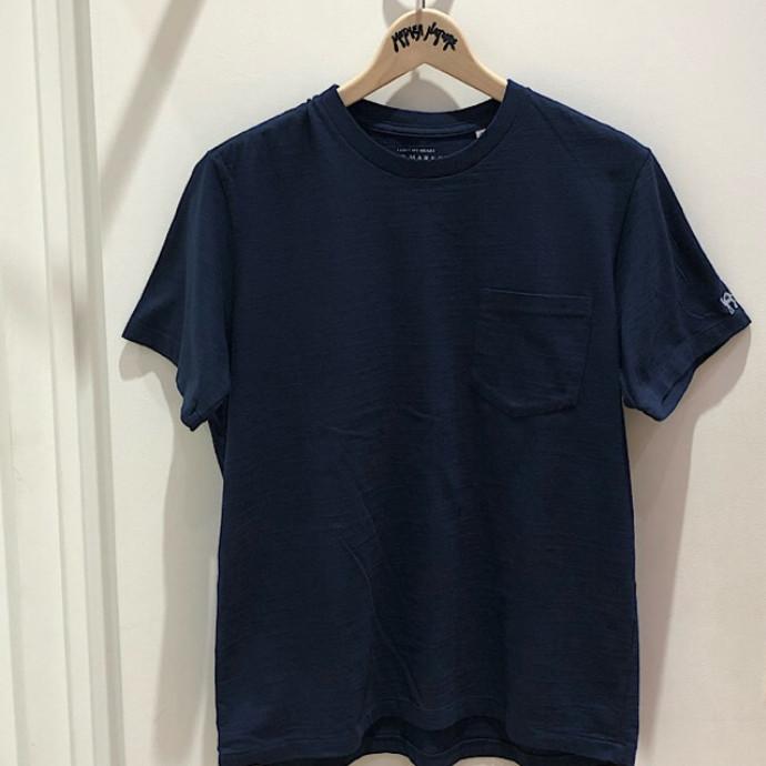 HRM☆GSY ポケットクルーネックショートスリーブTシャツ