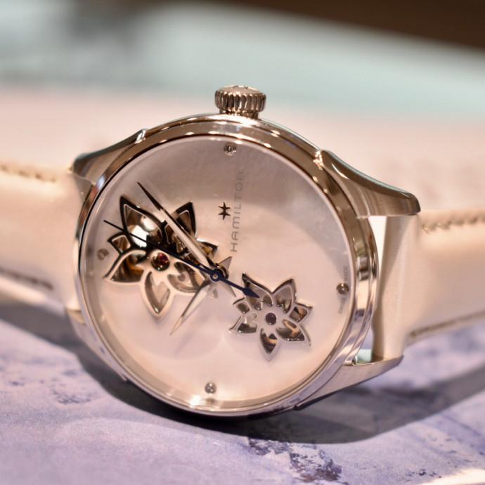 レディース向け機械式腕時計