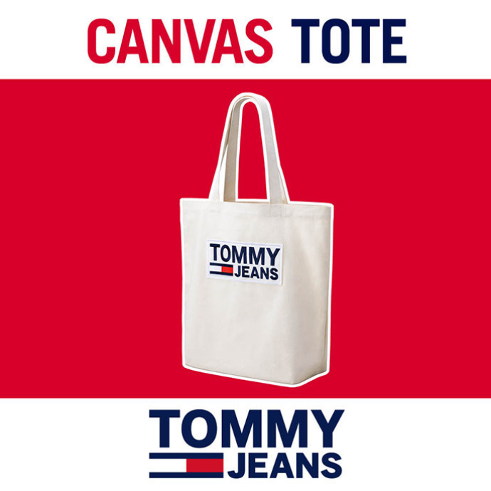 TOMMY JEANS トートバッグプレゼント