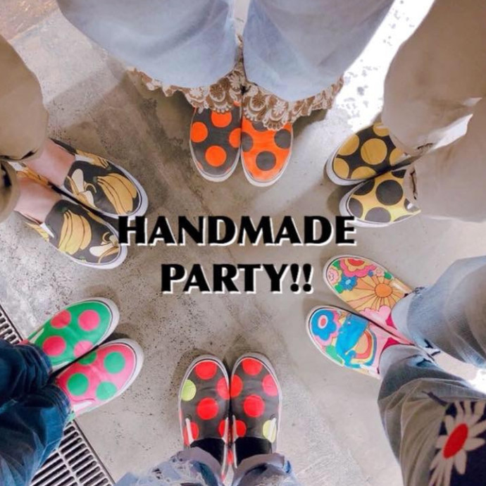 【POP UP SHOP】HAND MADE PARTY期間限定OPEN