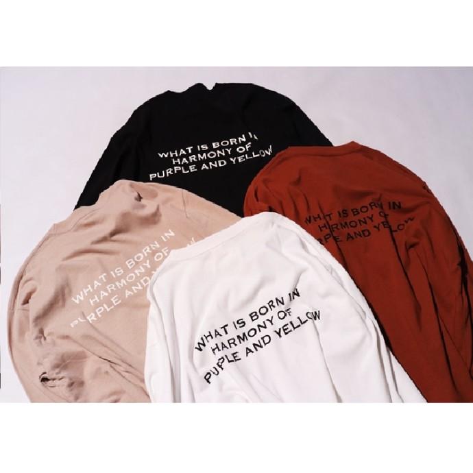 P&Y人気のロゴTシャツ。オータムカラーで新登場!