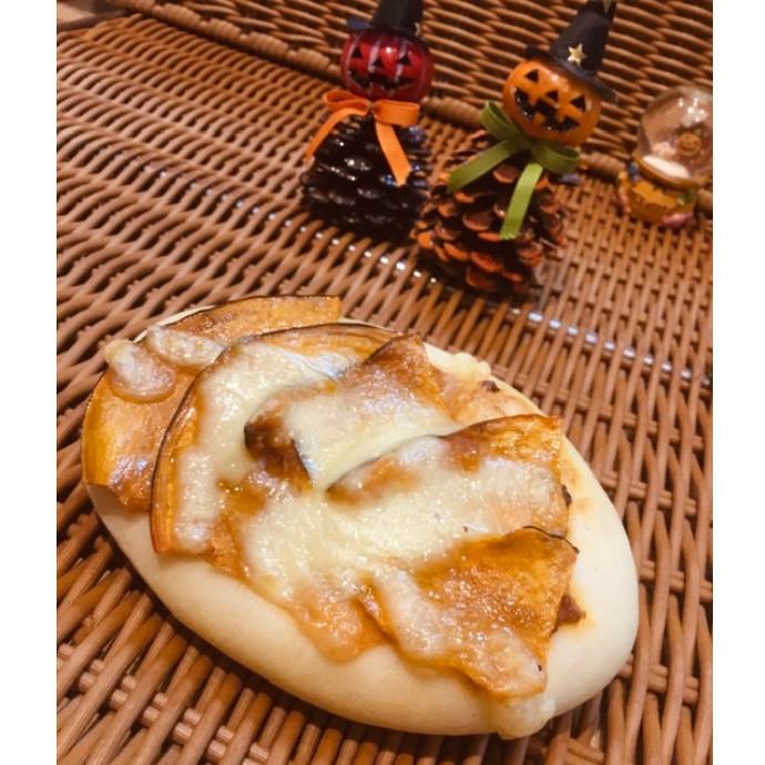 【🎃秋メニュー🎃】かぼちゃとカレーのフォカッチャ