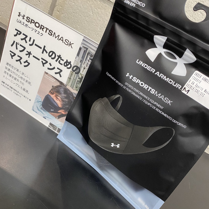 【UNDER ARMOUR MASK】