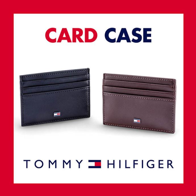 トミーヒルフィガー メンズ オリジナルカードケース プレゼント!